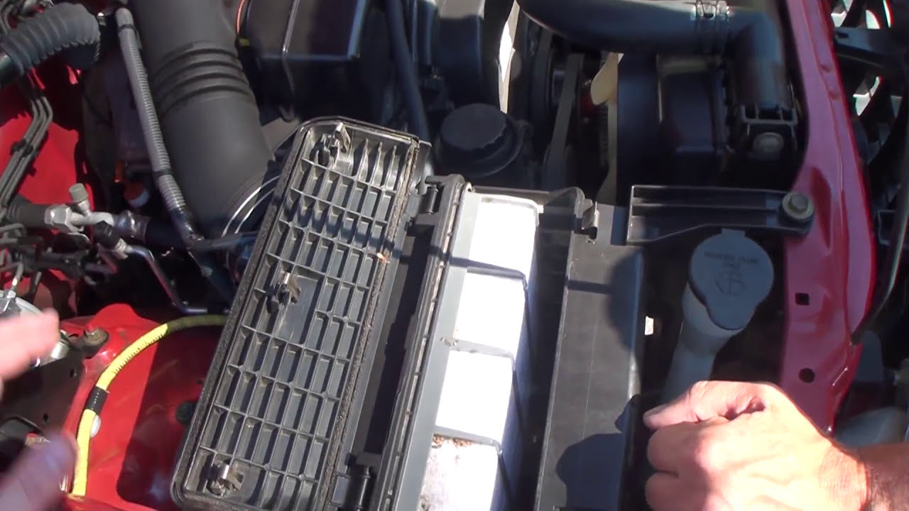 Toyota Tacoma Deck Plate Mod Vs Cold Air Intake K Amp N Youtube