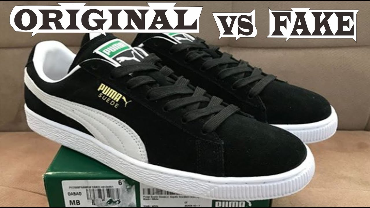 Puma Suede Classic Original Fake Youtube