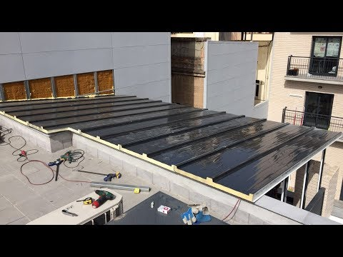 Video Cerramiento De Terraza Serie Renova CO 80 RPT Aluminio Lacado RAL 7016 Gris Antracita