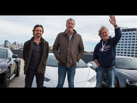 The Grand Tour Interview with Clarkson, May and Hammond