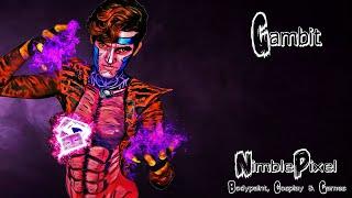 Gambit Bodypaint Timelapse by NimblePixel