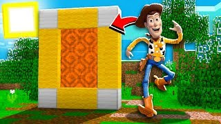 I FOUND a Portal to The TOY STORY Dimension in Minecraft Pocket Edition!