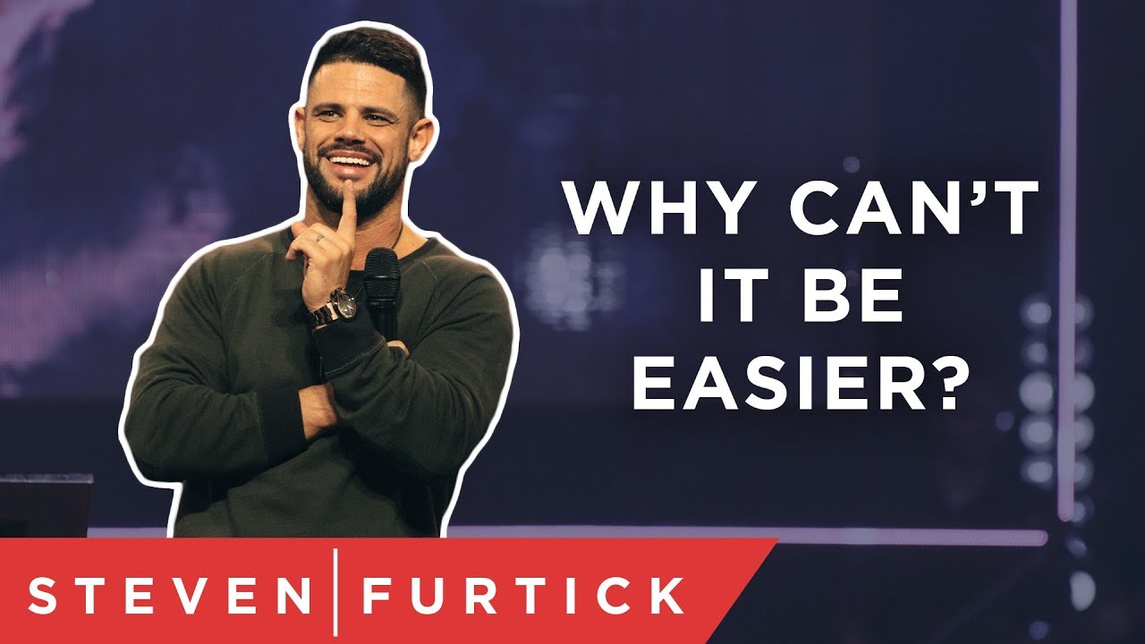 God doesn't always take the easy way. | Pastor Steven Furtick