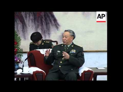 US Army Gen Casey meets PLA chief of General Staff, Taiwan sots