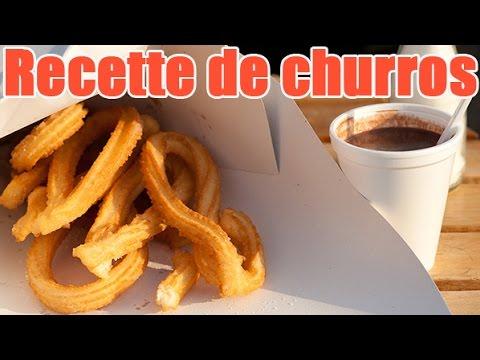 Recette de churros gourmands tr s facile cuisiner sans machine youtube - Recette facile a cuisiner ...