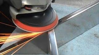 Polerownie, szlifowanie stali nierdzewnej  SPAW-INOX polishing stainless steel