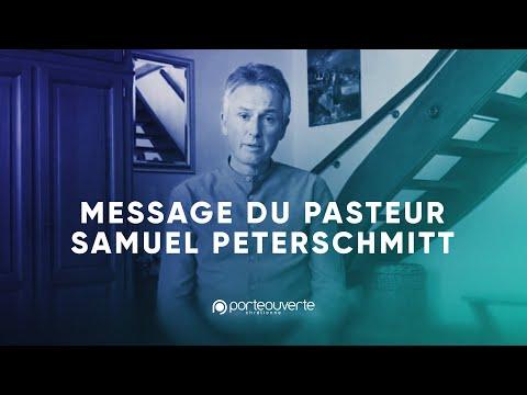 Message du Pasteur