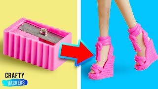 DIY Miniature School Supplies For Your Barbie