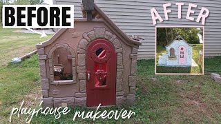 DIY Playhouse Makeover | BEFORE and AFTER | Fixer Upper