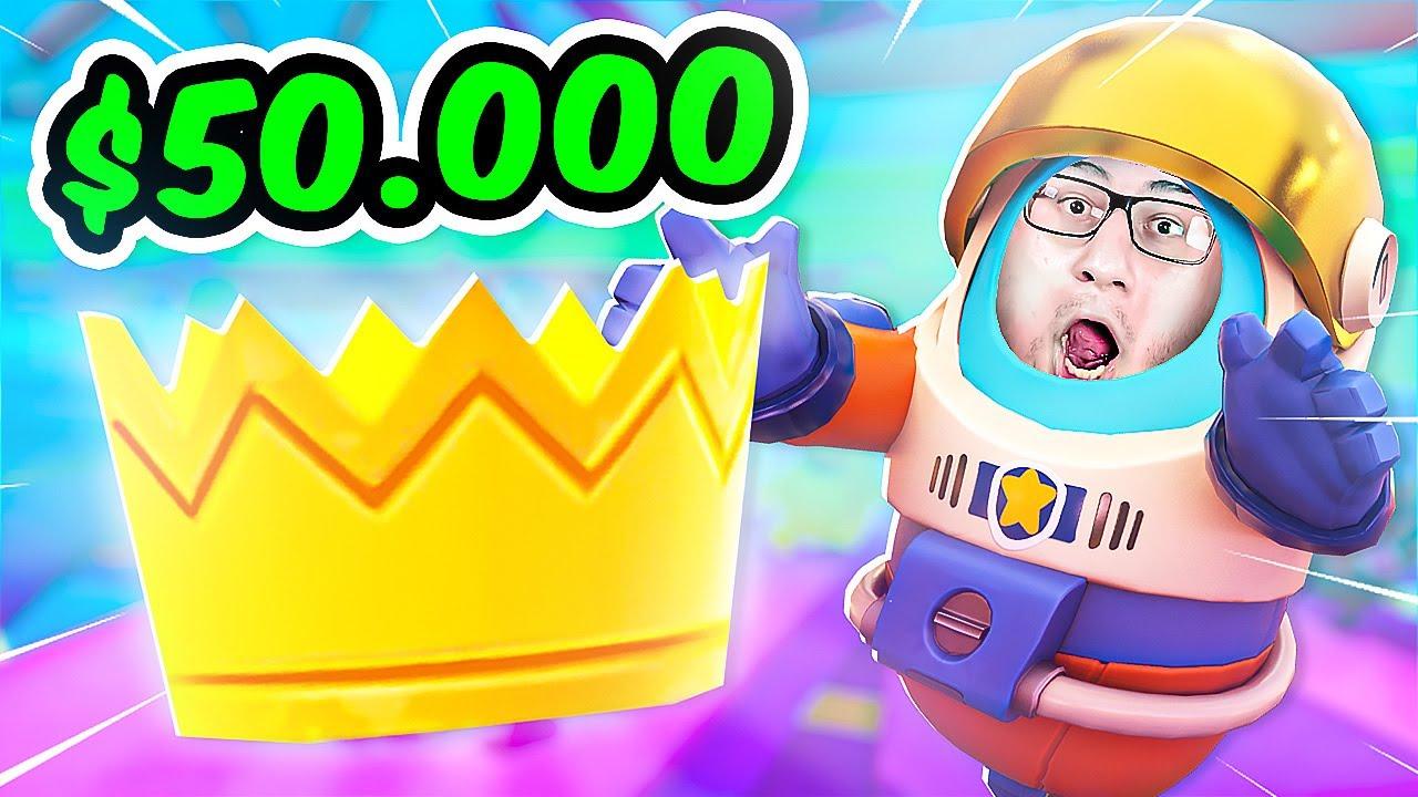 ТУРНИР НА 50.000$ В FALL GUYS
