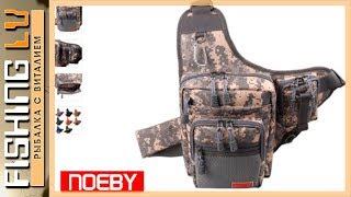 Обзор сумки «NOEBY» для ходовой рыбалки на спиннинг с aliexpress + аксессуары