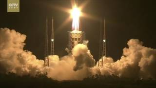 Exclusive: China successfully launches new generation carrier rocket