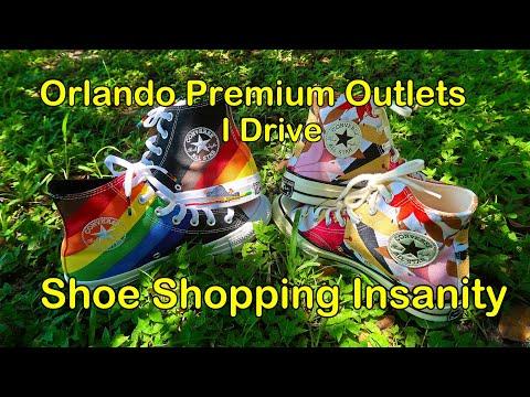 Orlando Premium Outlets -  Shoe Shopping Insanity - I Drive