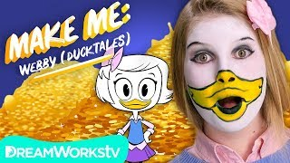 Webby Makeup Tutorial (DuckTales) | MAKE ME