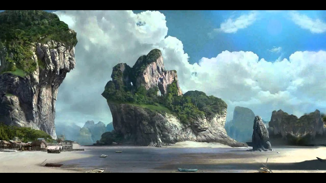 Best Future City 3d Wallpapers Compositing Matte Painting With Eyeon Fusion Amp Blender 3d