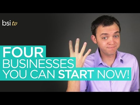 Four (4) Types of Online Businesses that You Can Start!