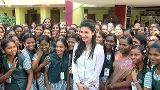 Shruti Haasan Celebrates Her 30th Birthday With Blind Kids - Must Watch