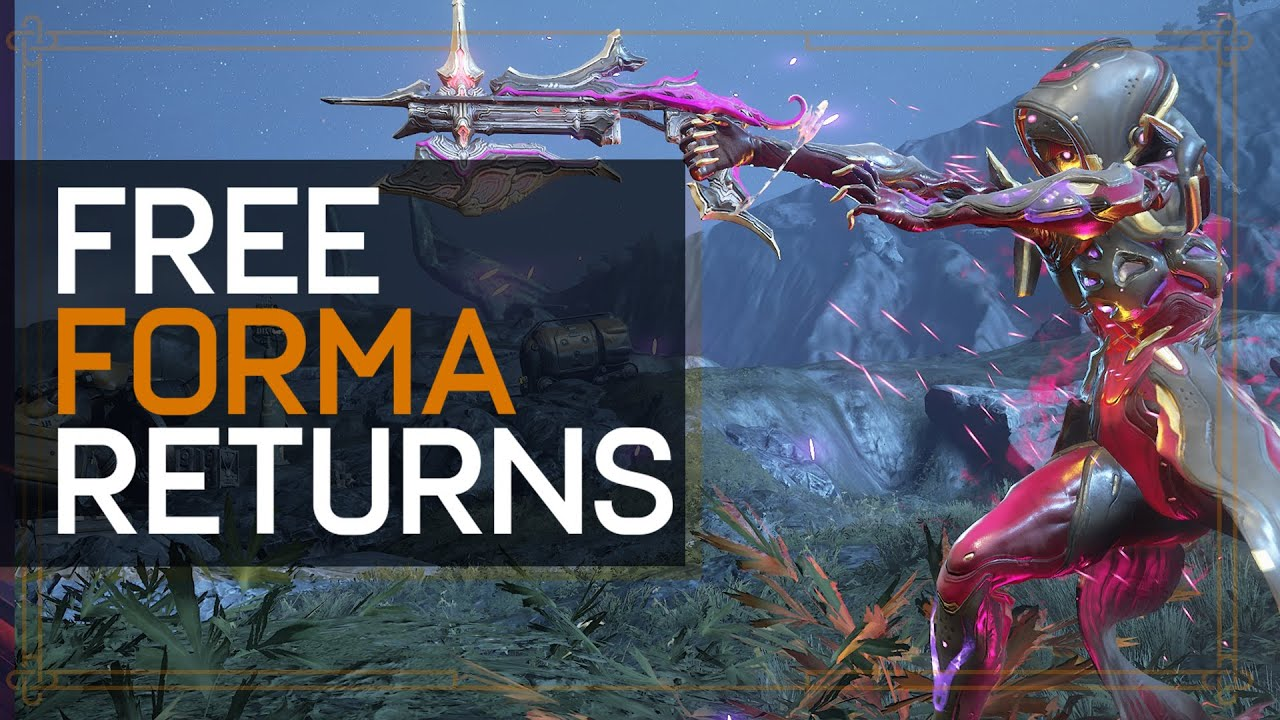 Warframe: Free Forma Event Returns - Plaguestar thumbnail