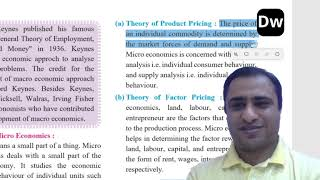 Lecture 3   Introduction to Micro Economics and Macro Economics   Part 3