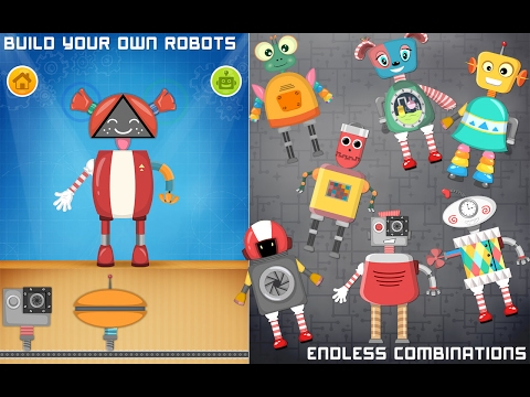 Robot Game For Preschool Kids