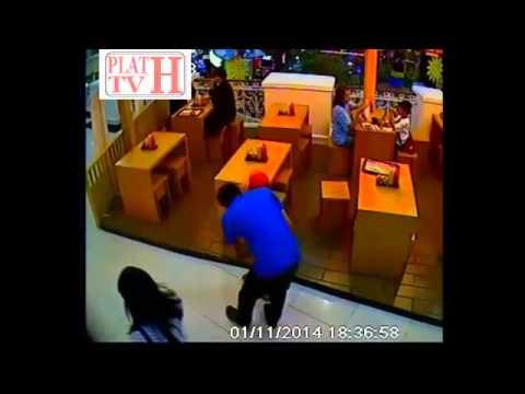 Video Aksi Pencurian Tas Terorganisir di Mall Karawaci
