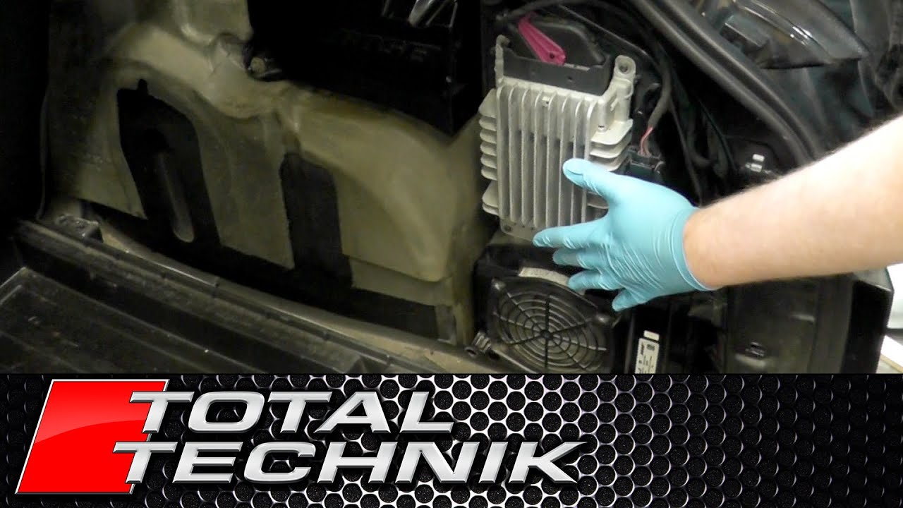 small resolution of how to remove subwoofer and amp avant audi a4 s4 rs4 b6 b7 2001 2008 total technik