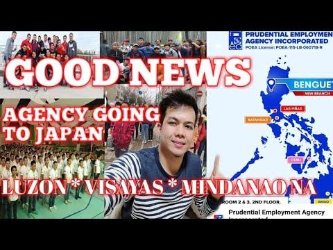 Agency going to japan PEA Luzon,Visayas,Mindanao na.