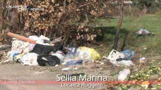 Sellia Marina (Cz)  – Località Ruggero abbandonata a sé stessa