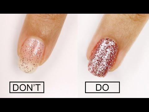 Even EASIER Glitter Nail Polish Removal!