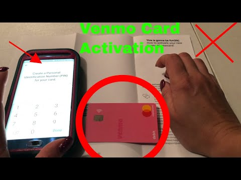 ✅  How To Activate Venmo Debit Mastercard Card 🔴