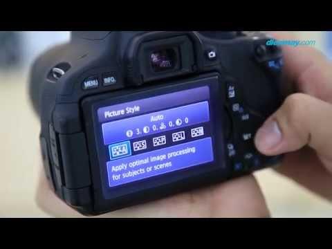 Máy ảnh Canon 600D - DSLR dành cho người mới tập chơi   Điện máy XANH