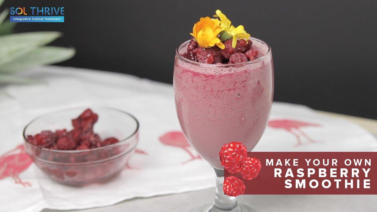 Make Your Own - Raspberry Smoothie
