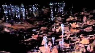 スノーシュー水上:大幽の氷筍