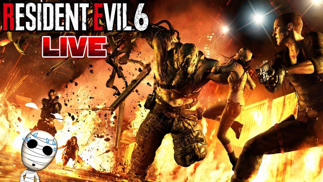 Zu Zweit gegen die Zombies! 🔴 Resident Evil 6 // Ps4 Livestream