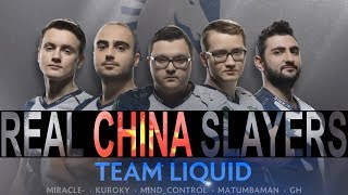 Dota 2 Team Liquid - The REAL China SLAYERS [The International 2017 Movie]
