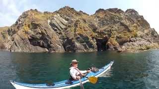 Sea Kayaking Cornwall 2013 - Mullion to the Lizard.