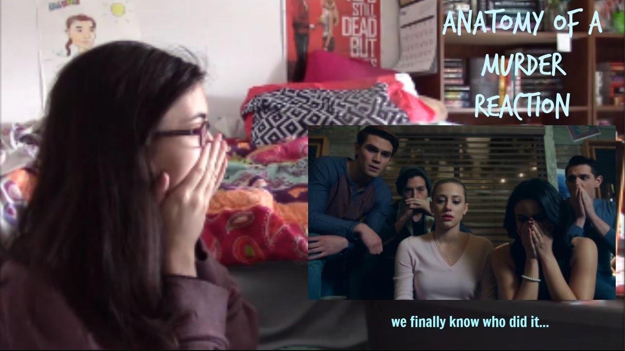 Riverdale \'Anatomy of a Murder\' Watch through & React - YouTube