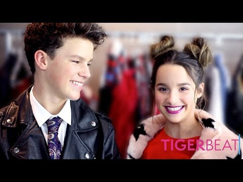 Annie LeBlanc & Hayden Summerall's TigerBeat Cover Shoot: Behind-the-Scenes
