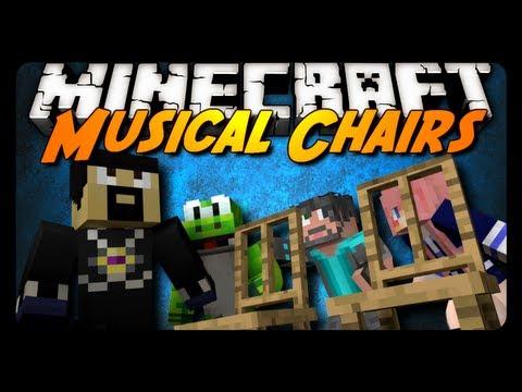 Minecraft: MUSICAL CHAIRS OF DEATH! w/ AntVenom & Friends! (Mini-Game)