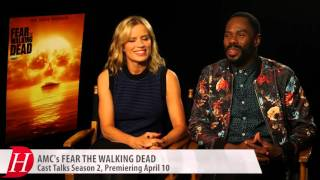 FEAR THE WALKING DEAD Cast Talks Season 2