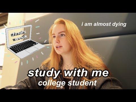 College Week In My Life: Finals Week + Study Tips