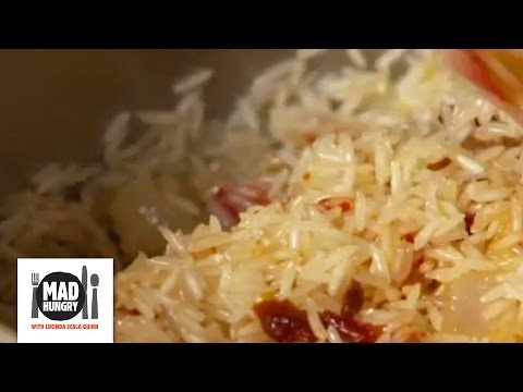 Lucinda's Sun Dried Tomato Rice - Mad Hungry With Lucinda Scala Quinn