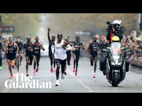 Eliud Kipchoge makes history by running sub two-hour marathon