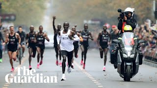 'Anything is possible': Eliud Kipchoge on his sub-two hour marathon record