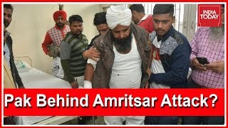 Pak Role Behind Grenade Attack In Amritsar ?