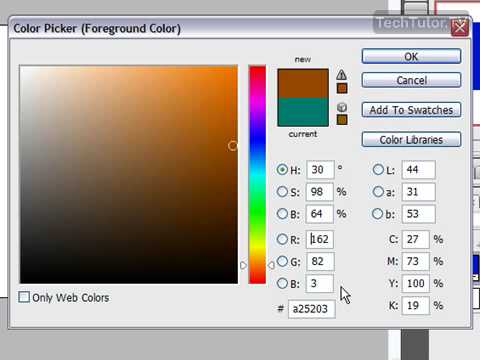 Select Foreground and Background Colors in Photoshop CS3   YouTube Select Foreground and Background Colors in Photoshop CS3