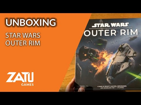Star Wars Outer Rim Unboxing