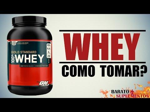 Whey Protein - Como tomar?