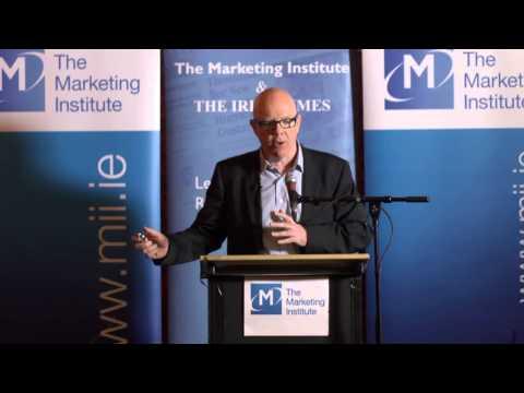 Marketing Institute Breakfast with Hugh Linehan, Online Editor, The Irish Times