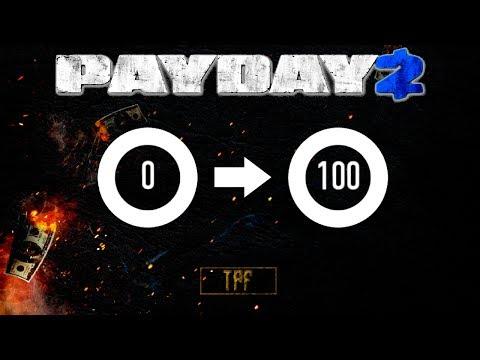 Payday 2 | Dica - Como pegar do level 0 ao 100 em poucos segundos! [TROLL?!] (PT-BR)